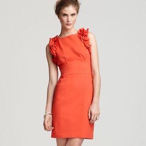 Trina Turk Mina Ruffle Ponte Knit Dress
